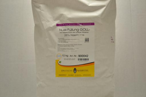 Nuss-Füllung Gold